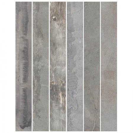 Miscela grigio rettificato 15x120 In Essence