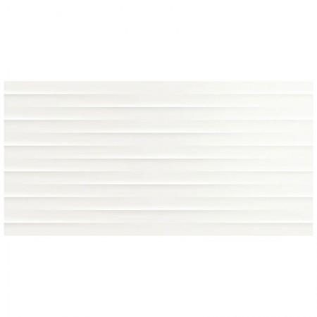 Bianco satinato struttura Drape 3D 30x60 Color Code