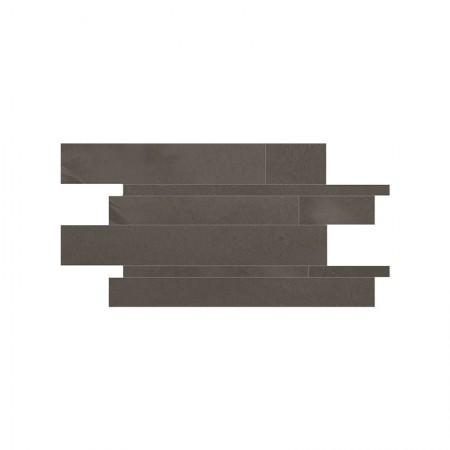 Mosaico listelli Miami Brown 30x60 lappato Architect Resin