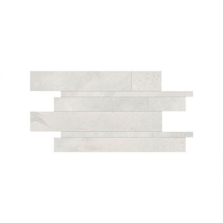Mosaico listelli Tokyo White 30x60 naturale Architect Resin