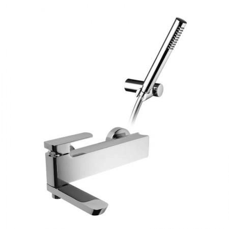Miscelatore vasca con supporto doccia orientabile Mis