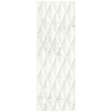 Piastrella Marazzi serie Allmarble wall Altissimo struttura pavè 3D 40x120