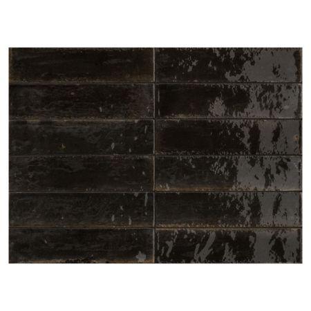 Marazzi Lume Black 6x24 M6RP