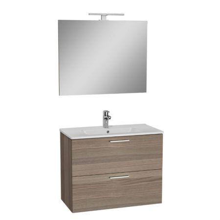 Mobile da bagno 80x40x60 effetto legno Cordoba