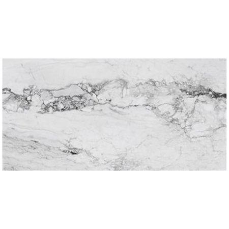Piastrella white lucida 60x120 serie Medicea Marble