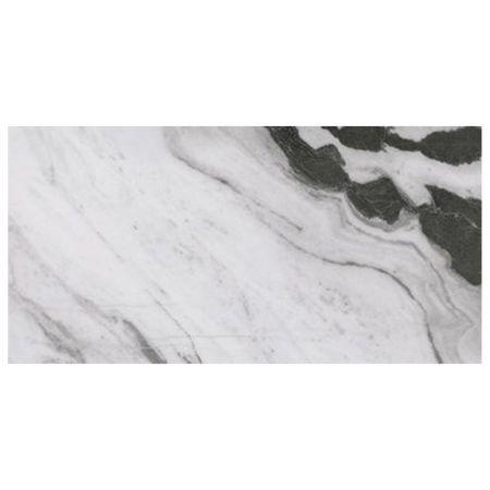 Piastrella white lucida 60x120 serie Panda Marble