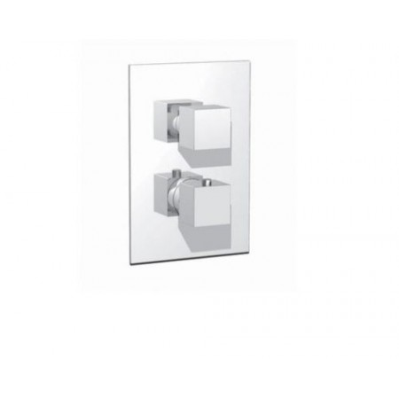 Miscelatore termostatico con deviatore 3 vie maniglie cod. RU103B01Q