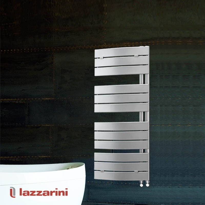 Termoarredo curvo Lazzarini serie Pieve