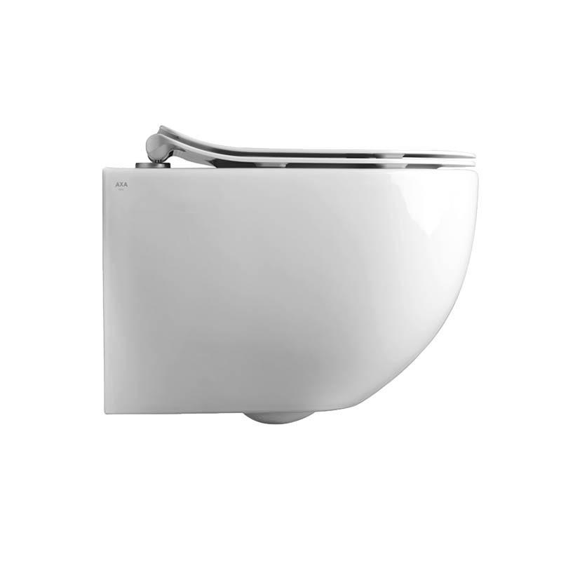 Vaso wc sospeso Axa Glomp Norim con copriwc termoindurente soft close