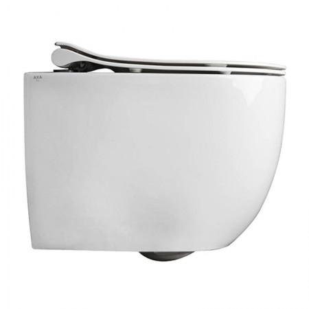 Vaso wc Mini sospeso Norim Axa Glomp con copriwc chiusura rallentata
